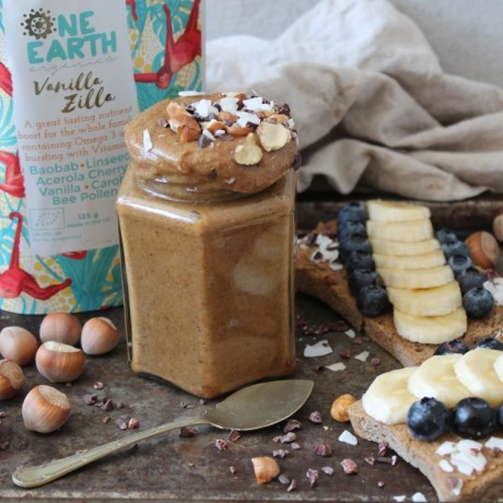 Vanilla Zilla Superfood Blend - Baobab, Bee Pollen & Carob