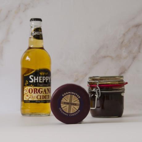 Cider, Cheddar & Chutney Gift Pack from Godminster