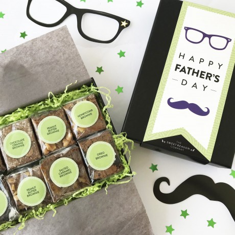 Father's Day Brownie Bites