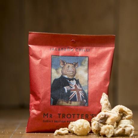 Mr Trotter's Great British Pork Crackling - Jalapeño