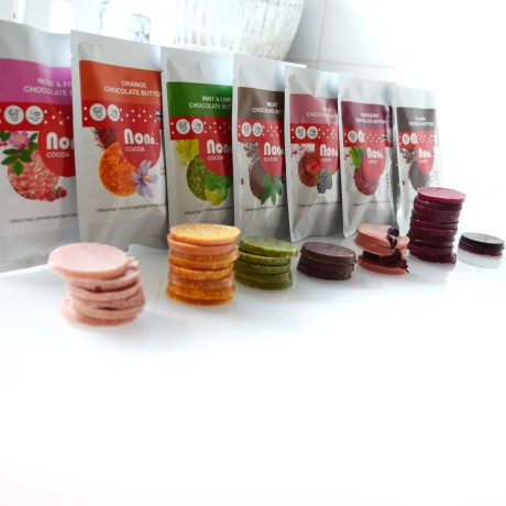 Chocolate Buttons in range of flavours