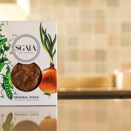 original vegan plant based steak