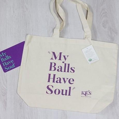 My Balls Have Soul Tote Bag