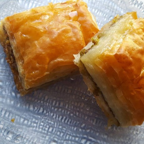 A Piece of Traditional Baklava