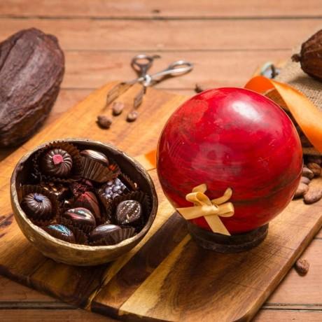 Chocolate Ball - Edible Gift Box (Dairy Free)