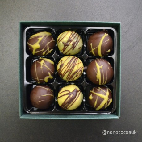 Christmas flavours chocolate