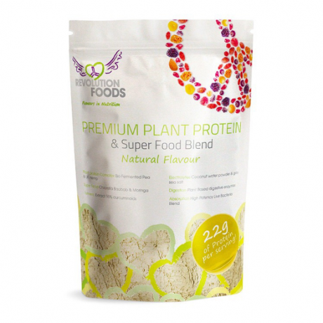 Premium Plant Protein & Superfood Blend (Natural Flavour)