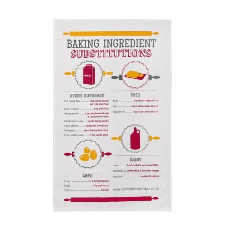 baking substitutions tea towel
