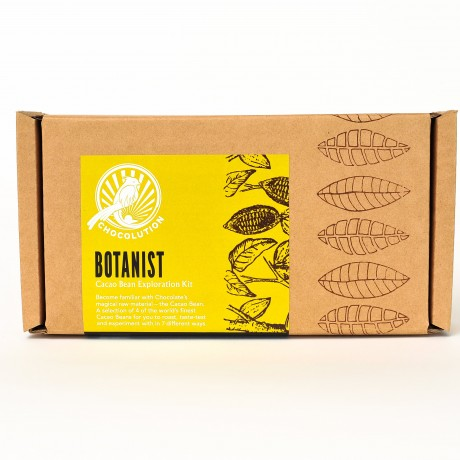 The Botanist cacao bean exploration kit