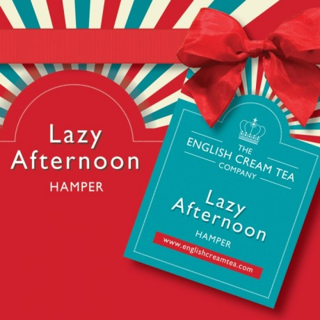 Lazy Afternoon with Games Hamper