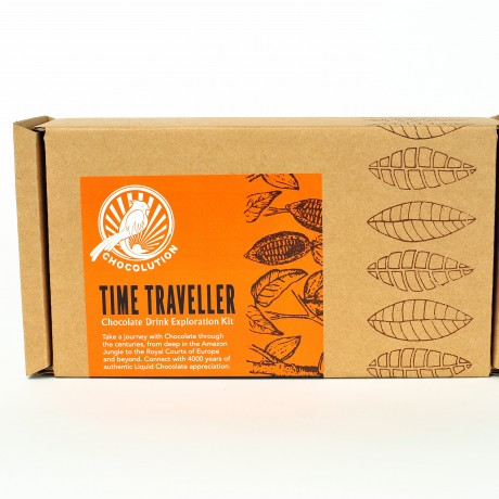 Time traveller chocolate drink kit