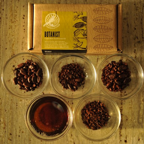 Botanist cacao bean exploration kit