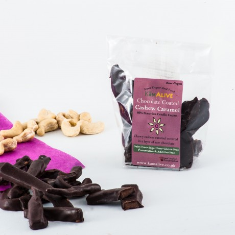 Raw Chocolate Cashew Caramel (3 pack)