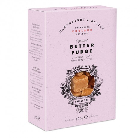 C&B Butter Fudge Carton