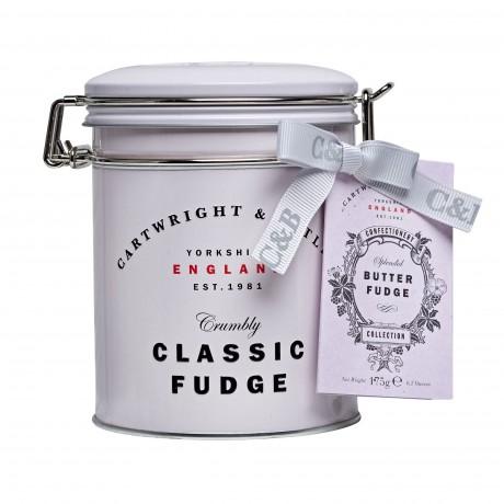 C&B Classic Butter Fudge Tin