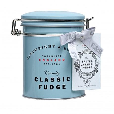 C&B Classic Salted Caramel Fudge Tin