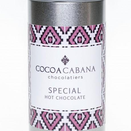 Cocoa cabana special hot chocolate