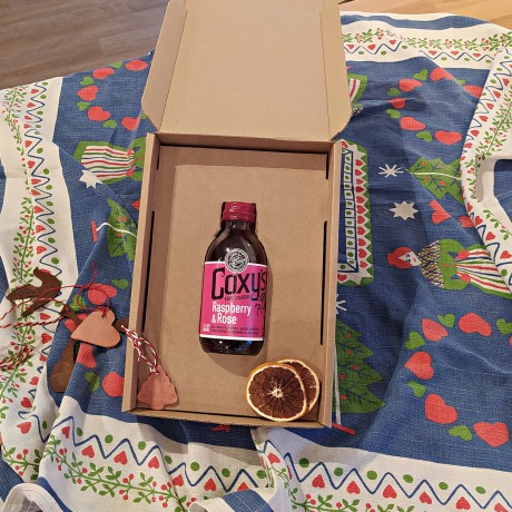 Coxy's Raspberry & Rose Liqueur
