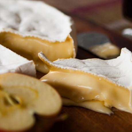 Ceramic Brie Baker With Artisan Brie