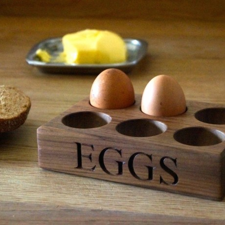 Personalised Wooden Egg Trays