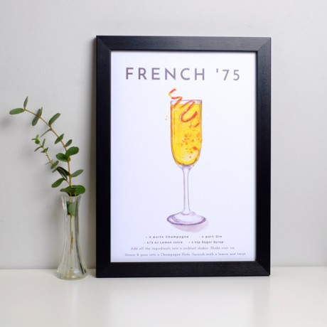 French 75 Print