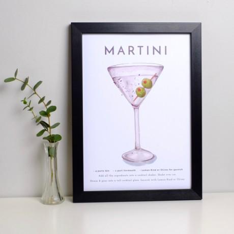 Martini Print