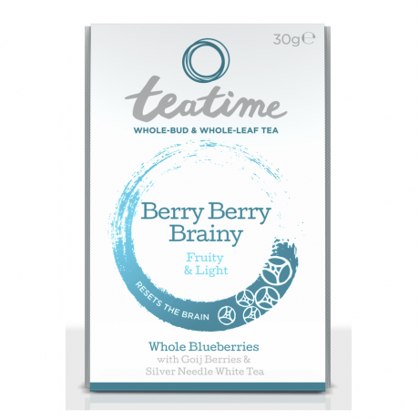 Berry Berry Brainy Loose Leaf Pouch
