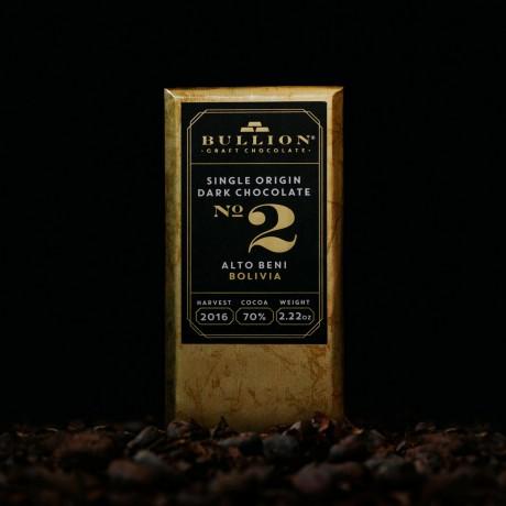 Single Origin Bean To Bar Chocolate Bars - Bolivia, Alto Beni 70% (2 bars)