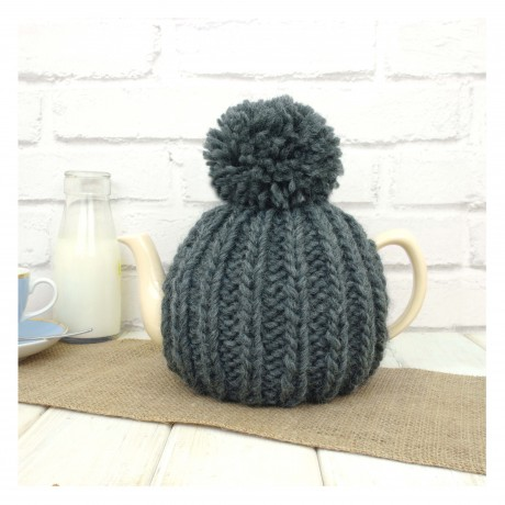 Charcoal Grey Dorothy 6 Cup Tea Cosy