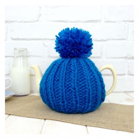 Petrol Blue Dorothy 6 Cup Tea Cosy