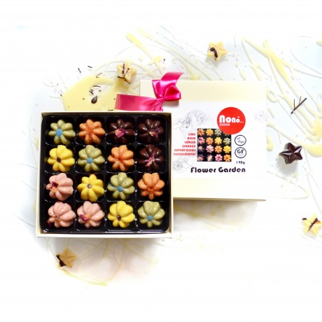 Gift box of 16 truffles box