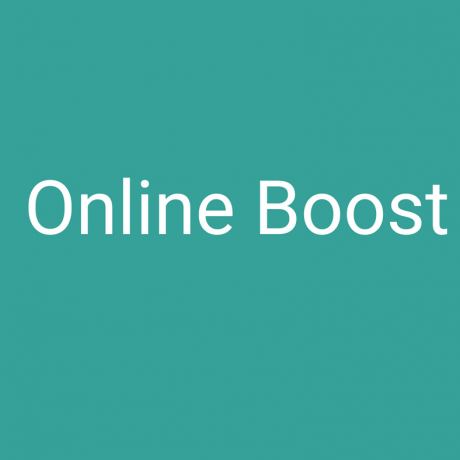 Online Boost Package