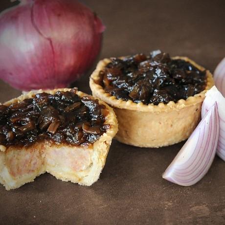 Dinky Caramelised Onion Pork Pie