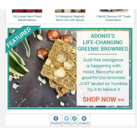 Featured Product - Email Newsletter