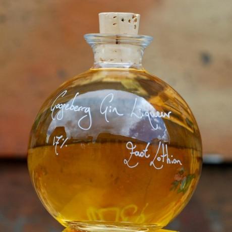 Demijohn Ball of Gooseberry Gin Liqueur