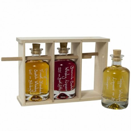 Demijohn's Mini Whisky Rack