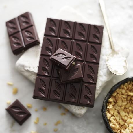 Honeycomb & Sea Salt Dark Chocolate 70% (3 bars)