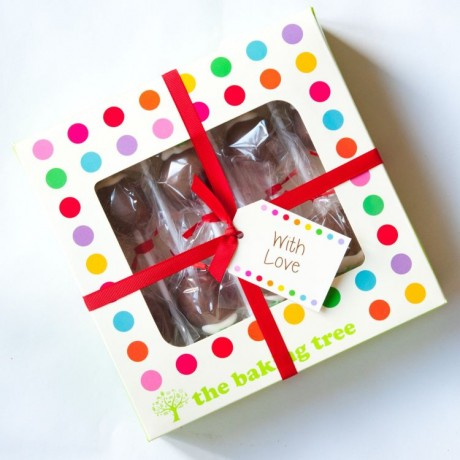 Gift Box with Ribbon & Tag