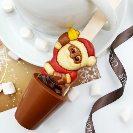 Santa Hot Chocolate Spoons (Set of 3)