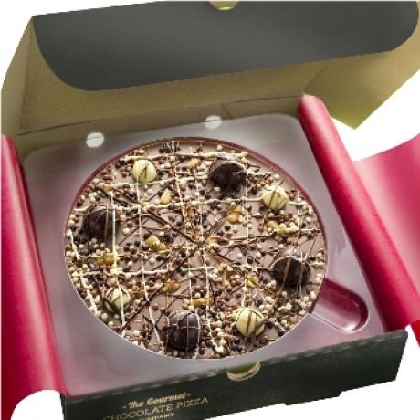 Irish Cream Chocolate Pizza