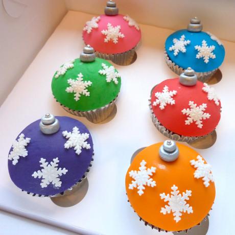 'Bauble' Cupcake Gift Box