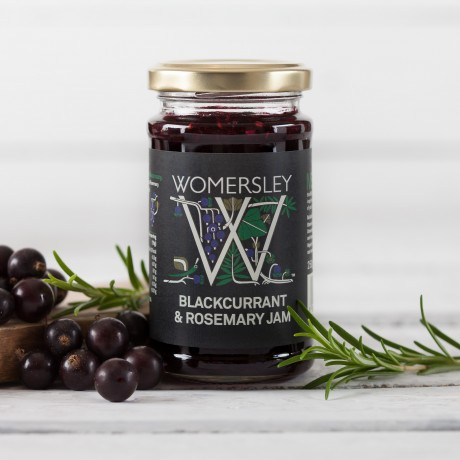 Womersley Blackcurrant & Rosemary Jam