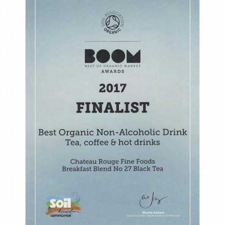 Chateau Rouge Fine Gourmet Foods_BOOM 2017 Finalist_ best organic teas