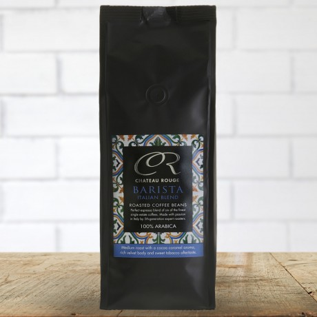 Chateau Rouge Gourmet Fine Foods Barista Italian Espresso Arabica Coffee Beans