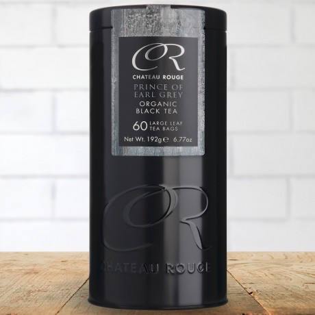 Chateau Rouge Gourmet Fine Foods Gift_Prince of Earl Grey_Organic Black Tea Bags_60