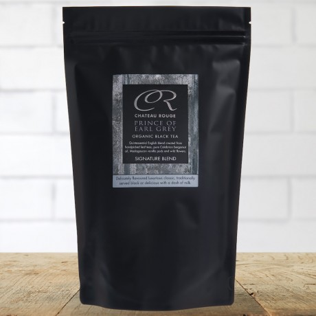 Chateau Rouge Gourmet Fine Foods Gift_Prince of Earl Grey_Organic Black Tea Bags_Pouch