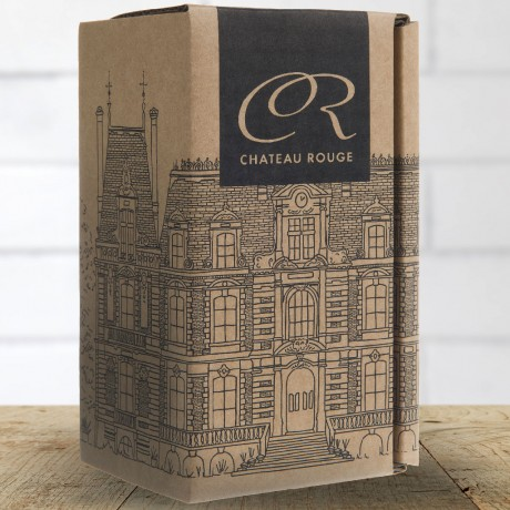 Chateau Rouge fine foods tea bags tin gift carton