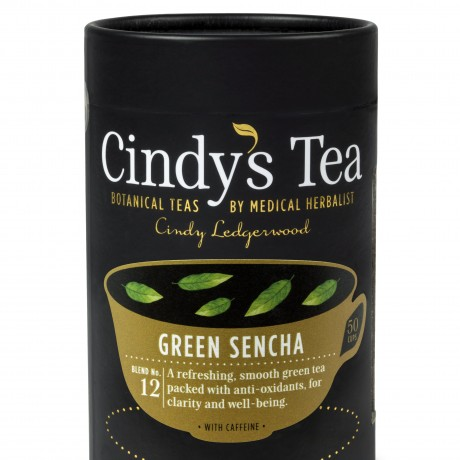 12 Green Sencha Tea - CADDY