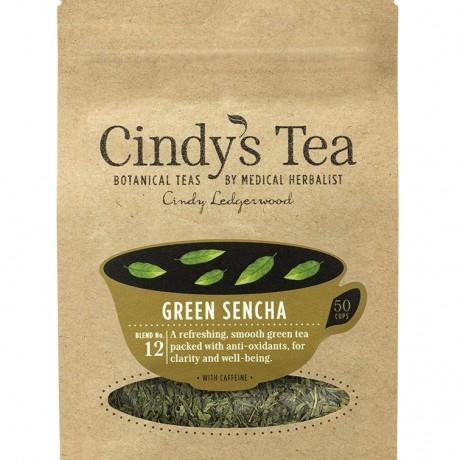 12 Green Sencha Tea - 50 mugs