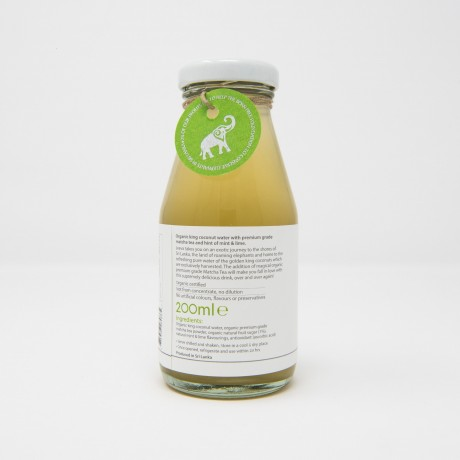 Organic King Coconut Water Matcha Tea